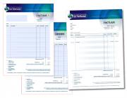 Factuur en offerte invulbare PDF op basis van aangeleverde huisstijl. De PDF telt de bedragen verticaal bij elkaar op en rekent automatisch het BTW bedrag uit. Handig!!
